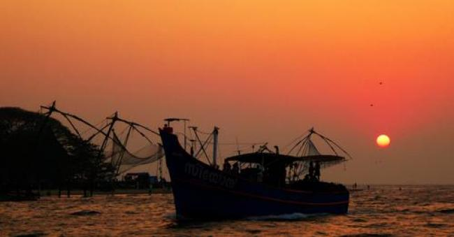 Chinese trawler in India. Photo: Mike Finn (CC BY 2.0)