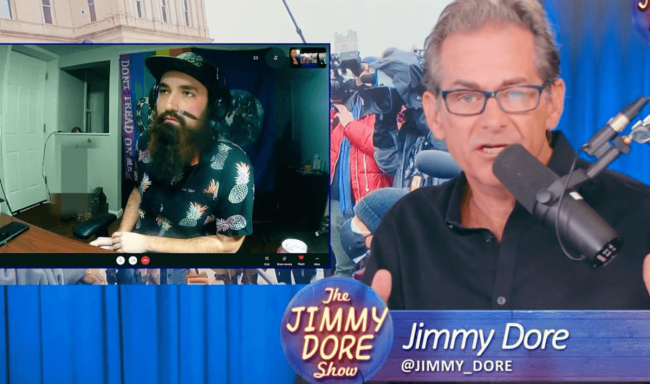 Magnus Panvidya, a member of the Boogaloo Boys, on The Jimmy Dore Show.