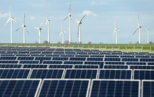 Solar and wind in Germany
