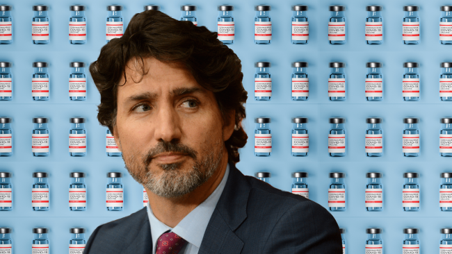 Trudeau and vaccines