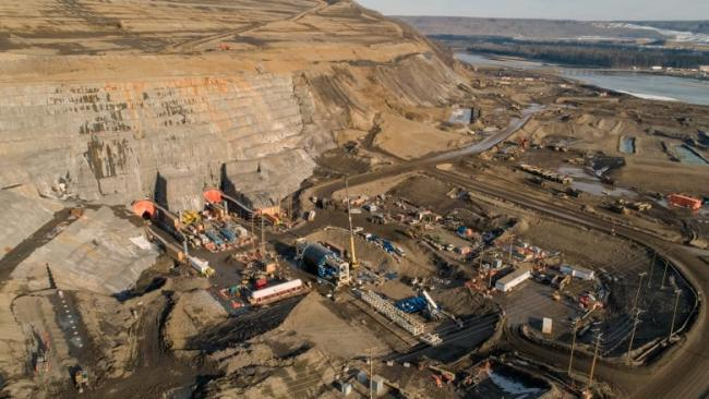 Construction at the Site C dam project in northern B.C. (BC Hydro/Contributed )