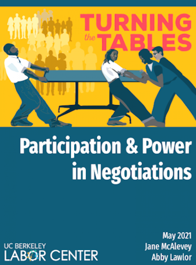 Turning the Tables: Participation and Power in Negotiations - book cover