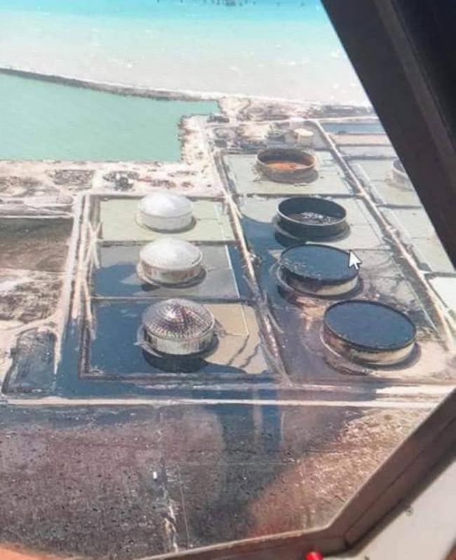 STATOIL facility in East End Grand Bahama an environmental disaster unfolding following Hurricane Dorian passage.