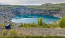 The Jeffrey Mine in Quebec was once the largest chrysotile asbestos mine in the world. Photo by Eric Launier / Flickr