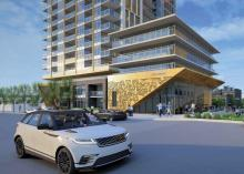 Wesgroup is hoping to build a 34-storey rental building, which includes 423 units - including 96 that are at less-than-market rates - at 100 Braid St. Contributed
