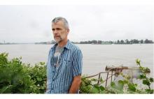 Kevin Washbrook of Voters Taking Action on Climate Change was shocked to learn an LNG export licence has been approved for a facility on Tilbury Island in the Fraser River. Photograph by: Arlen Redekop, Province