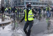 French protests Dec. 2018 - James Arthur Gekiere/AFP/Getty Images