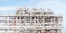 Example natural gas liquefaction plant, to convert natural gas into a liquefied state.