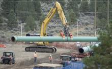 TMX pipeline work