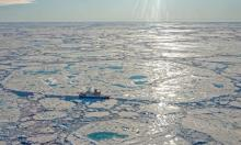 Researchers worry that the Laptev Sea findings may signal a new climate feedback loop has been triggered. Photograph: Markus Rex/Alfred-Wegener-Institut