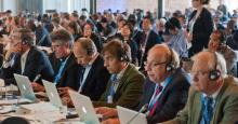 Delegates at an IPCC working group meeting in 2013