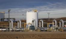 TransCanada's Keystone pipeline facility. Photograph: Jeff McIntosh/AP