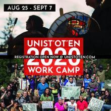 Unist'ot'en 2020 Work Camp