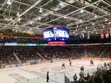 Hockey Game - Photo via Camera Eye Photography.