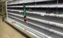 Empty shelves at a Tesco store in Worcester. 'The underlying problem is that a handful of retailers dominate the market.' Photograph: David Davies/PA