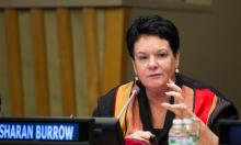 Sharan Burrow, general secretary of the International Trade Union Confederation, said its 200 million members would stand with the students. Photograph: Rick Bajornas/UN Photo