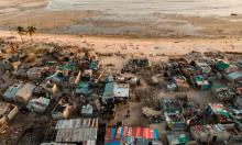 'Catastrophe afflicts people now and, unlike those in the rich world who can still afford to wallow in despair, they are forced to respond in practical ways.' Photograph: Guillem Sartorio/AFP/Getty Images