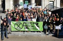Launch of Extinction Rebellion Vancouver
