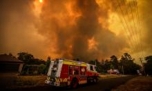 Scientists say the lack of moisture in the landscape is a key reason this year's bushfire have been so severe and the climate crisis is behind the lengthening of the fire season. Photograph: David Gray/Getty Images