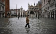 St Mark's square in Venice on 13 November 2019. Photograph: Marco Bertorello/AFP via Getty Images