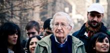 Labor Notes interviewed leading intellectual troublemaker Noam Chomsky about how the coronavirus is exposing the failures of capitalism and what we can do about it. Photo: Andrew Rusk (CC BY 4.0)
