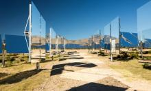 Heliostats at the Ivanpah solar thermal power plant in California's Mojave Desert. 'The film's attacks on solar and wind power rely on a series of blatant falsehoods.' Photograph: Alamy