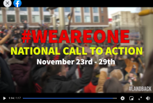 National Call To Act;ion November 2020