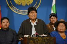 Evo Morales Nov. 2019