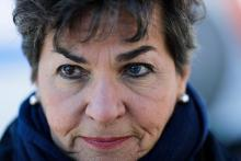 Former UN climate chief Christiana Figueres. (AP Photo/Markus Schreiber) ASSOCIATED PRESS