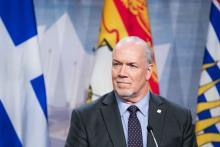 Premier John Horgan - Martin Ouellet-Diotte/AFP/Getty Images