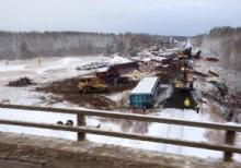Alberta derailment