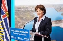 Christy Clark and Site C