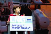 Christy Clark and LNG