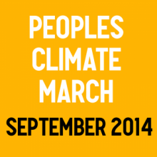 Peoples Climate March Sept 2014