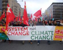 system change or climate change
