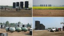 Photos of WIndtalker oil wells in Frog Lake First Nation. Source: Sichuan Rui Investment Managemen