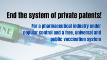 End the system of private patents!