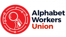 Alphabet Workers Union logo