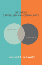 Between Capitalism and Community - Book Cover