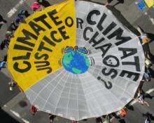 Climate justice or climate chaos at COP21