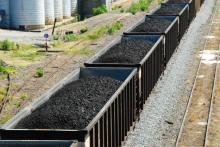Coal Cars in BC
