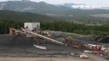 The Quinsam Coal mine in Campbell River, B.C. is shown in this undated file photo. (Courtesy B.C. Government)