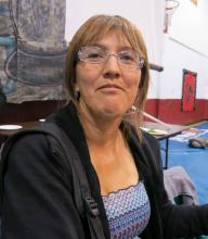 The spokesperson for the Unist'ot'en, Freda Huson, was one of the defendants in Coastal GasLink Pipeline Ltd.'s injunction application. CARLITO PABLO