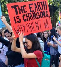 The earth is changing why aren't we?