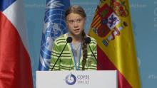 Greta at COP 25