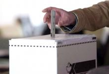 A voter casts a ballot in the 2011 federal election in Toronto on May 2, 2011. Chris Young / THE CANADIAN PRESS