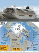 Crystal cruises of the arctic
