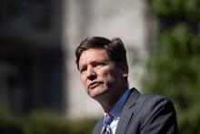 Attorney General David Eby acknowledges problems with BC's SRO hotels: 'We have people who are housed in these SROs who live in parks in the summer because they're so unlivable, and that's an unacceptable situation.' Photo by Darryl Dyck, the Canadian Press.