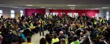 Representatives of the Yellow Vests taking part in a citizens' debate Jan. 26 2019 France