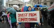 Large majorities of Americans want serious governmental action on climate change that incorporates social justice and workers' rights, all paid for by progressive taxation. (Photo by John Keeble/Getty Images)